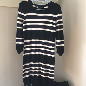 French Connection Striped Sweater Dress Size XS